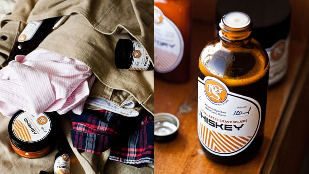 WHISKEY   SKIN CARE PRODUCTS