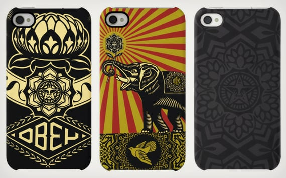 SHEPARD FAIREY X INCASE  iPHONE 4 CASE