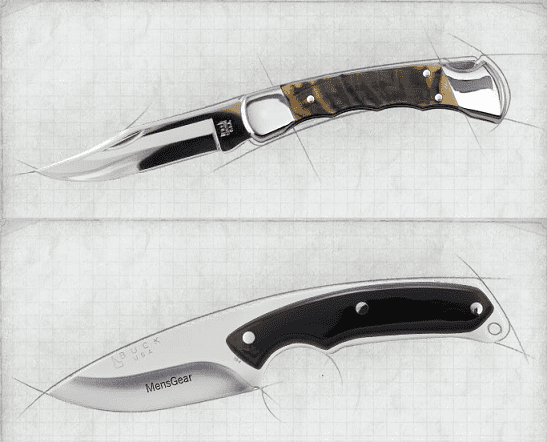 BUCK CUSTOM KNIFE BUILDER