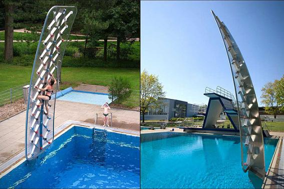 AQUACLIMB POOLSIDE CLIMBING WALL