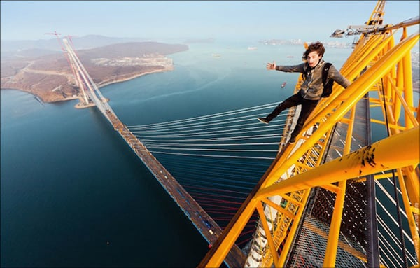 SKYWALKING RUSSIANS |  PHOTOGRAPHY