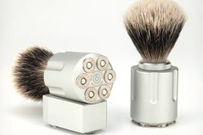 Six-Shooter-Shave-Brushes-1-www.mensgear.net-cool-gear-tech-mens-gadgets-grooming-style-gizmos-gifts-gift-ideas-travel-alexa-entertainment-google-auto-cars-rides-watches-babes-blog-awesome-