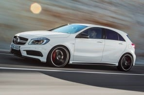 2014-Mercedes-Benz-A45-AMG-front-left-side-view-e1360781998461