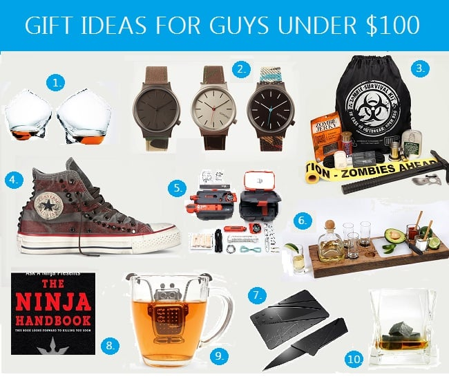 GIFT IDEAS FOR GUYS UNDER $100