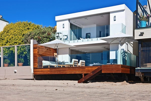 Modern malibu beach house by owen dalton masterbuilder77 Gifts for home builders
