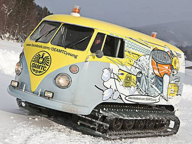 CUSTOM VW BUS SNOWCAT MOBILE DJ BOOTH