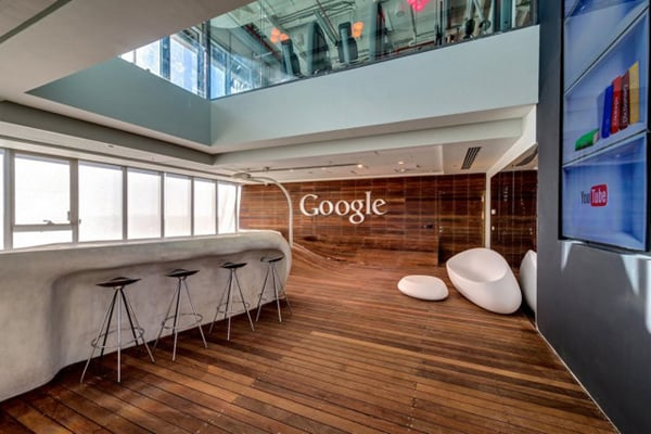 LOOK INSIDE GOOGLE'S TEL AVIV OFFICE