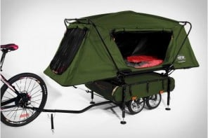 kamp-rite-bicycle-camper-trailer-www.mensgear.net-cool-gear-tech-mens-gadgets-grooming-style-gizmos-gifts-mens-gift-ideas-travel-entertainment-auto-cars-rides-watches-babes-blog-awesome-luxury-watches-architecture-1
