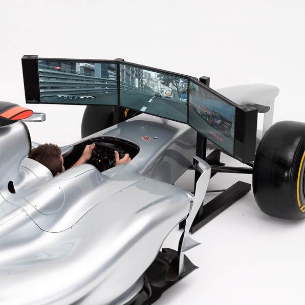 formula one racing simulation - photo #3