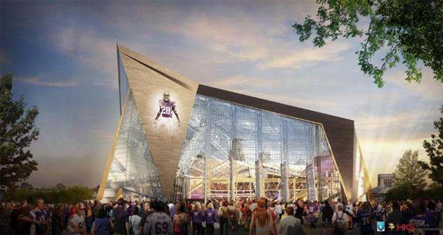 $1 BILLION MINNESOTA VIKINGS NFL STADIUM