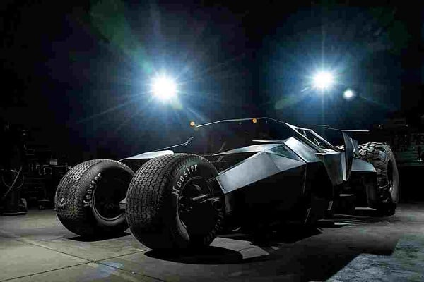 $1.6 MILLION BATMAN TUMBLER REPLICA