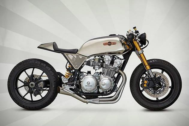 1980 HONDA CB750F SUPERSTRADA BY CLASSIFIED MOTO