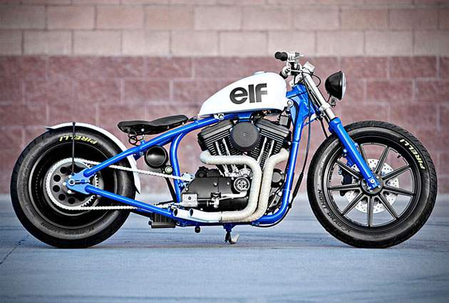 DEL REY HARLEY SPORTSTER BY DP CUSTOMS