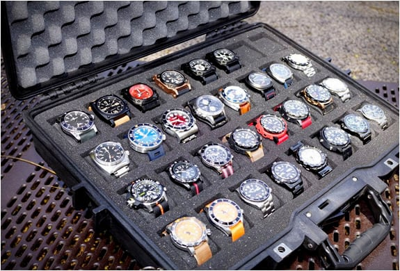 WATCH COLLECTOR CASES | BY THE MARTINATOR