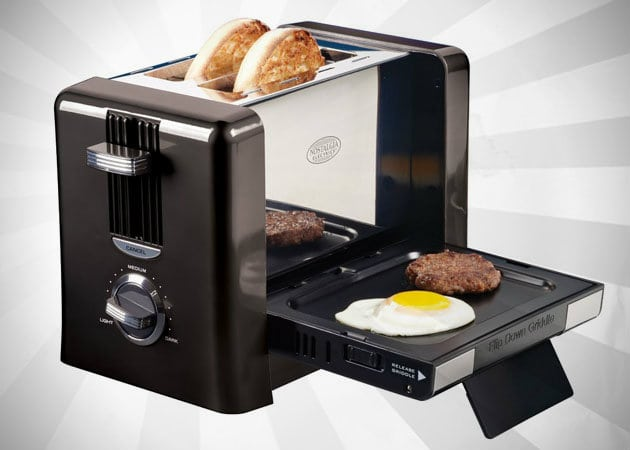 FLIP DOWN BREAKFAST TOASTER