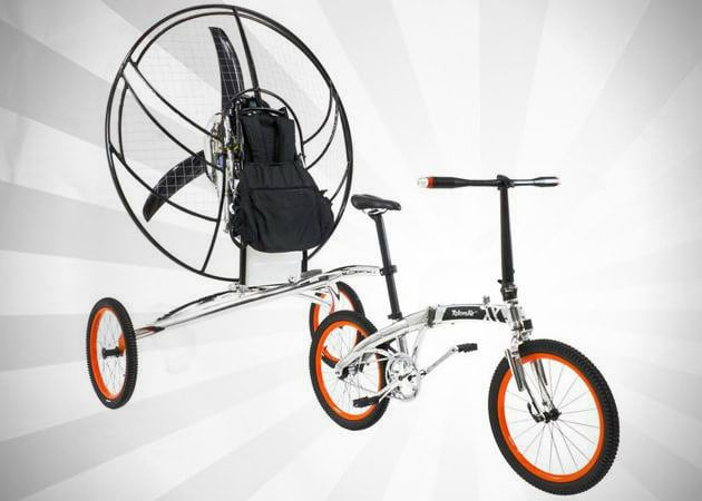 PARAVELO | WORLD'S FIRST FLYING BICYCLE