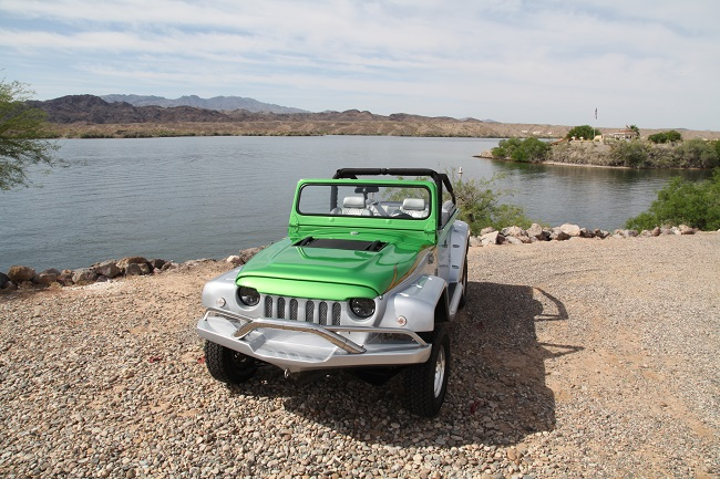 Watercar Panther Amphibious Jeep 4