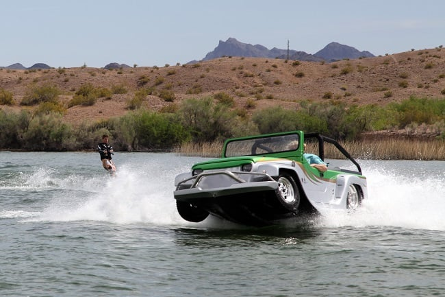 Watercar Panther Amphibious Jeep 5