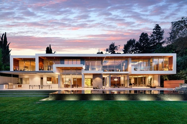 MOST EXPENSIVE HOUSE ON SUNSET STRIP