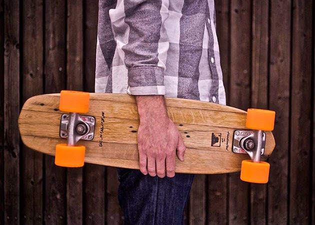 SUSTAINABLE WOOD SKATEBOARDS | BY NATURAL LOG SKATEBOARDS