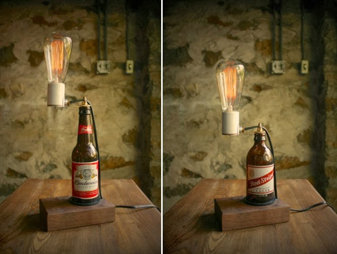 LUKE LAMP CO. BEER LAMP