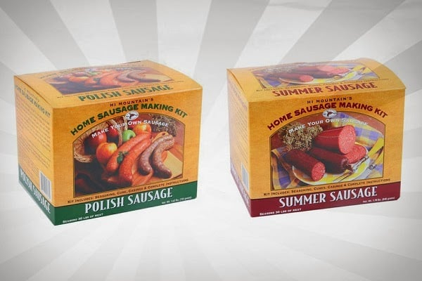 HI MOUNTAIN SAUSAGE MAKING KITS