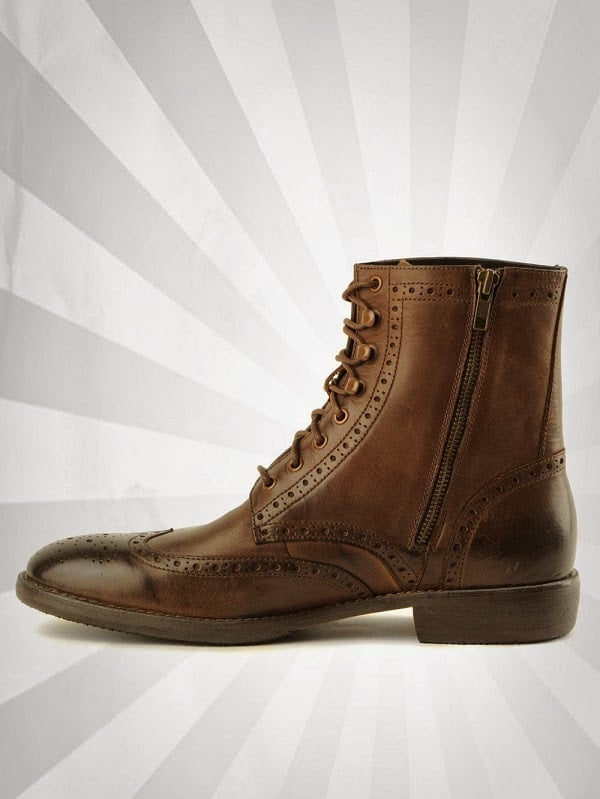 HILLCREST WINGTIP BOOTS BY ANDREW MARC Mens Gear
