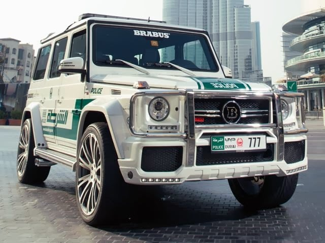 700 HORSEPOWER MERCEDES-BENZ G63 AMG FOR DUBAI POLICE