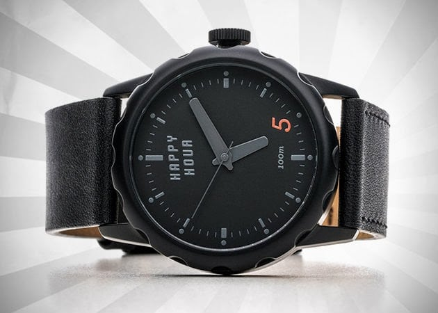 HAPPY HOUR TIMEPIECES | BOTTLE OPENER WATCHES