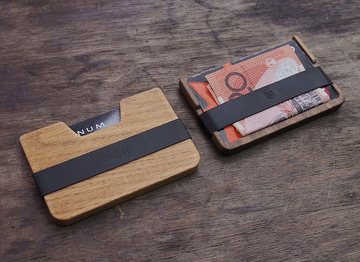 POQUITO WOOD WALLETS