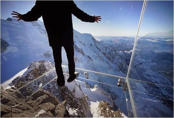 STEP INTO THE VOID FRENCH ALPS