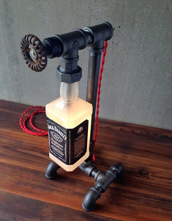 Jack Daniels Bottle Lamp Men S Gear