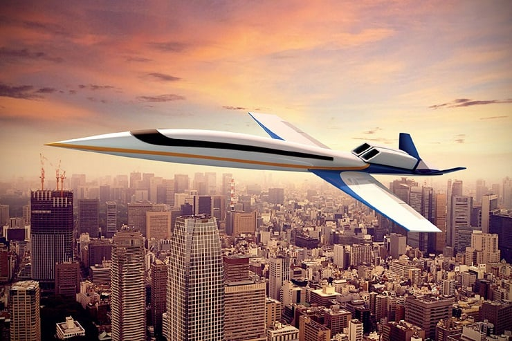 SPIKE S-512 SUPERSONIC JET