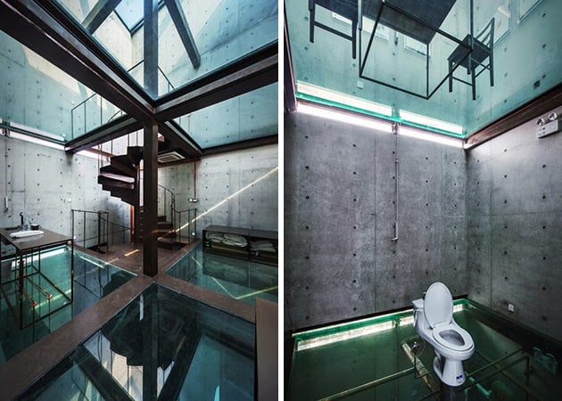Vertical Glass House In Shanghai