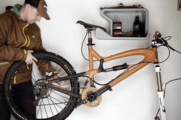 Shelfie bicycle wall mount men 39 s gear Bicycle bookshelf