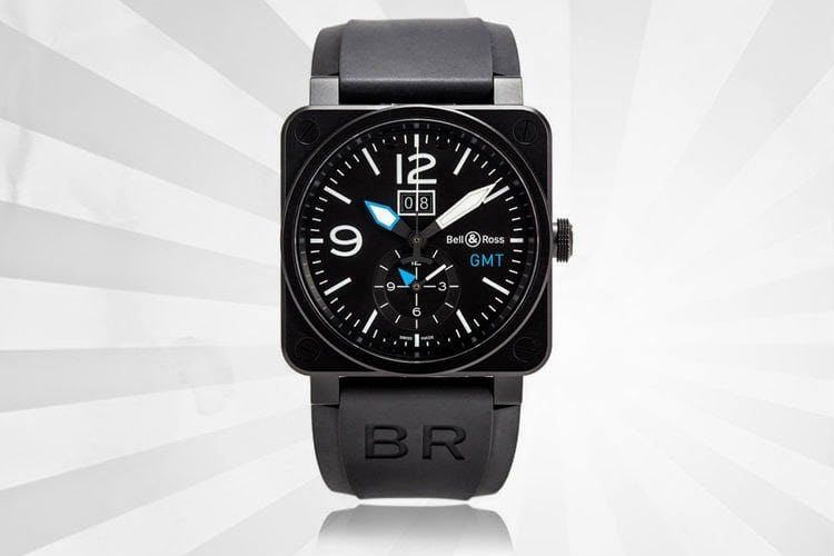 BELL & ROSS WATCH GALLERY BR 03 GMT