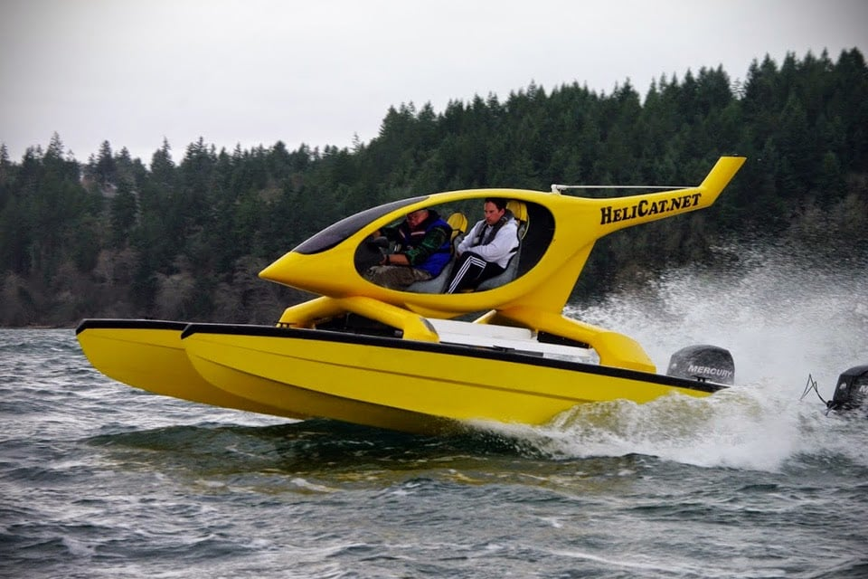 Helicat 22 Helicopter Inspired Catamaran Men S Gear