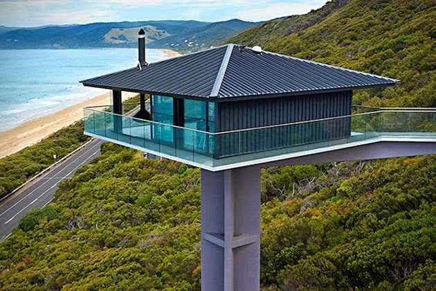 The Pole House In Fairhaven Australia