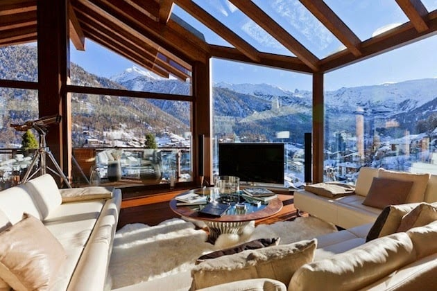 ULTIMATE SWISS LUXURY CHALET ZERMATT PEAK