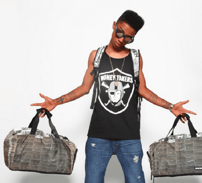 PMMONEY STACKS DUFFLE BY SPRAYGROUND