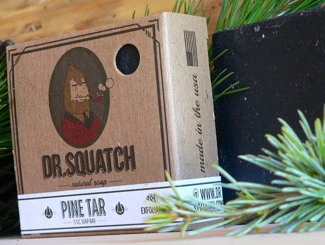 Pine Tar Natural Soap By Dr. Squatch