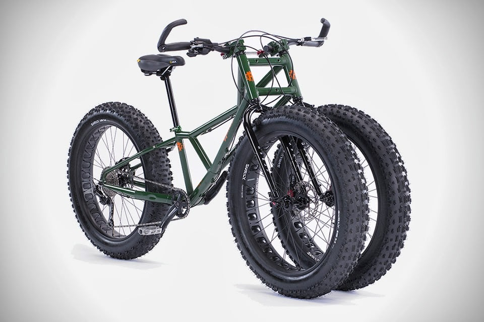 RUNGU ALL FAT-TIRE BULLFROG TRIKE