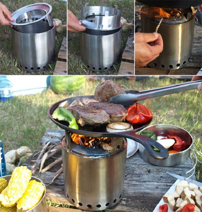 10 Camping Recipes And Ideas For Cooking Around The Campfire: THE SOLO STOVE CAMPFIRE
