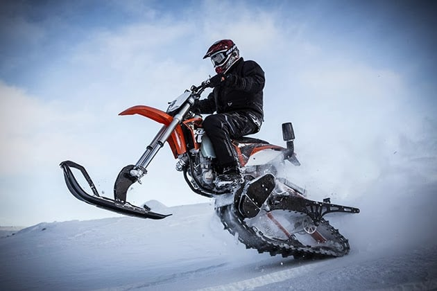 TIMEBERSLED MOUNTAIN HORSE DIRT BIKE SNOW KIT