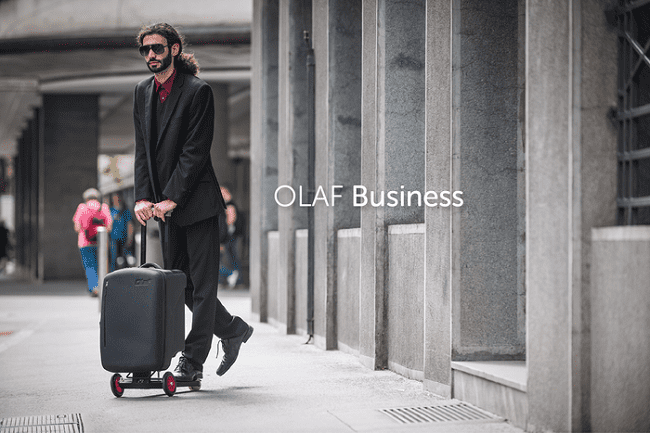 olaf business scooter