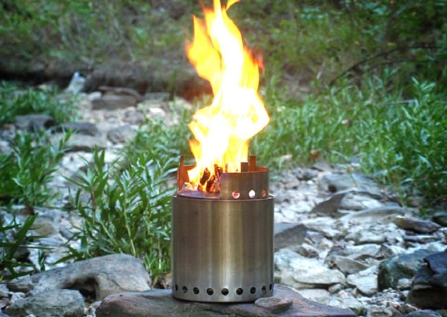 THE SOLO STOVE CAMPFIRE