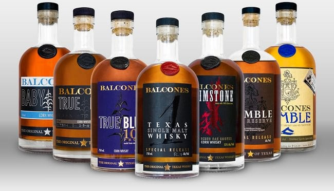 Balcones Whiskey from Texas