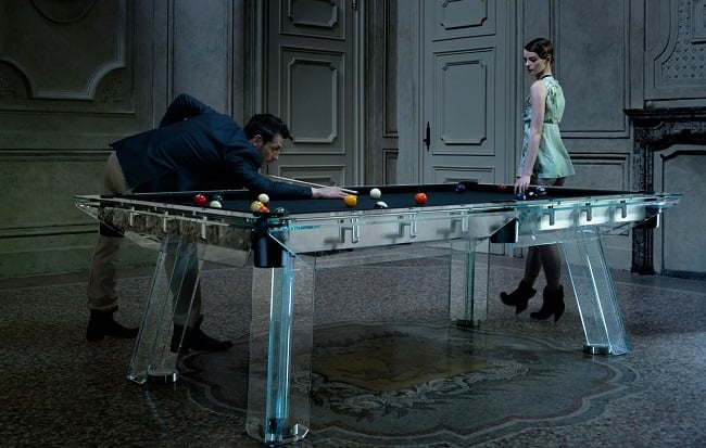 Filotto Crystal Pool Table