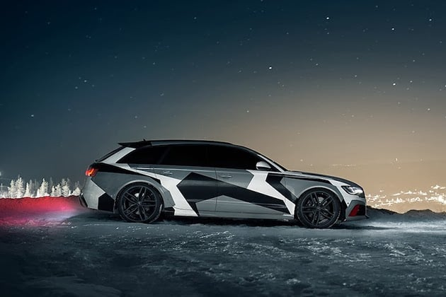 JON OLSSON'S WINTER-READY AUDI RS6 WAGON