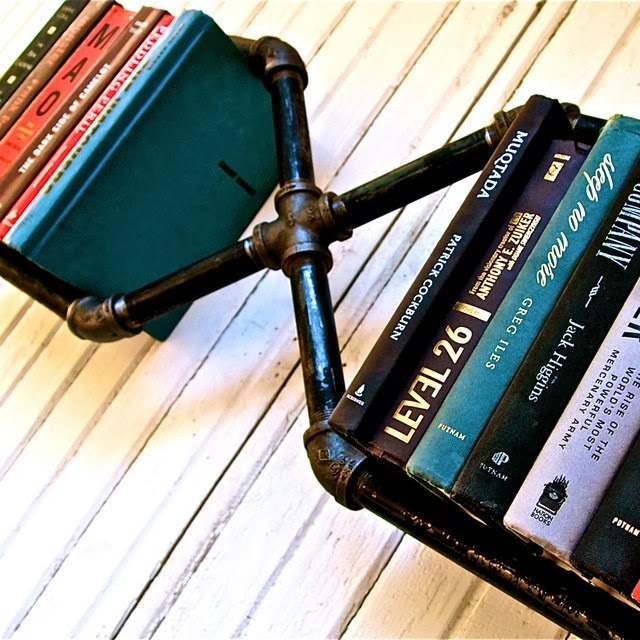 MR. X BOOKSHELF | BY STELLA BLEU DESIGNS